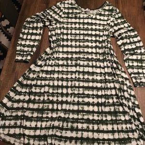 Long sleeved dress NWOT